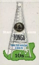 [Airmail - The 1st Oil Search in Tonga, type IP]