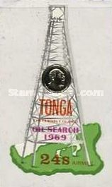 [Airmail - The 1st Oil Search in Tonga, type IQ]