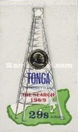 [Airmail - The 1st Oil Search in Tonga, type IR]