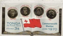 [Entry of Tonga into the British Commonwealth, type JD]