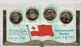 [Entry of Tonga into the British Commonwealth, type JE]