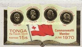 [Entry of Tonga into the British Commonwealth, type JF]