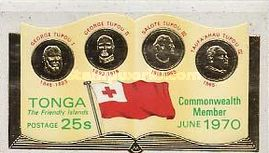 [Entry of Tonga into the British Commonwealth, type JG]
