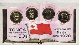 [Entry of Tonga into the British Commonwealth, type JH]