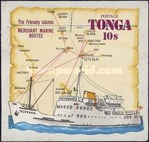 [Ships & Map - Tongas Commercial Fleet, type MG]
