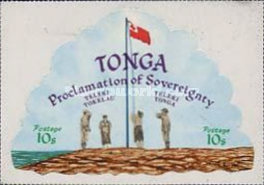 [Proclamation of Sovereignty over Minerva Reefs, type NQ]