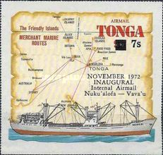 [Airmail - Opening of the Airline Nuku'alofa - Vava'u, type NY]