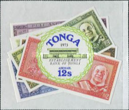 [Airmail - Foundation of Bank of Tonga, type OF]