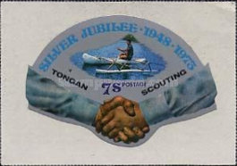 [The 25th Anniversary of Scouting in Tonga, type OK]