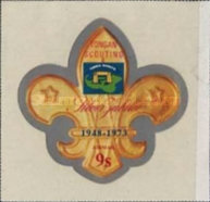 [Airmail - The 25th Anniversary of Scouting in Tonga, type OO]