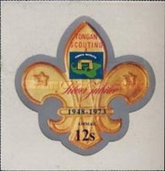 [Airmail - The 25th Anniversary of Scouting in Tonga, type OP]