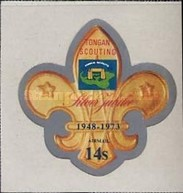 [Airmail - The 25th Anniversary of Scouting in Tonga, type OQ]