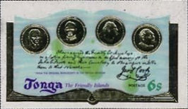 [The 200th Anniversary of Captain Cook's Visit to Tonga, type OT]