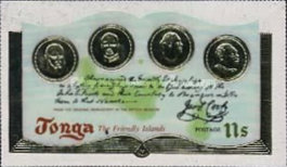 [The 200th Anniversary of Captain Cook's Visit to Tonga, type OV]
