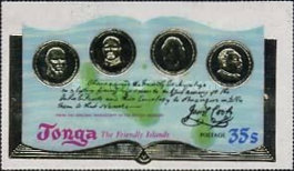 [The 200th Anniversary of Captain Cook's Visit to Tonga, type OW]