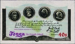 [The 200th Anniversary of Captain Cook's Visit to Tonga, type OX]