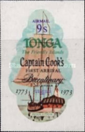 [Airmail - The 200th Anniversary of Captain Cook's Visit to Tonga, type OY]