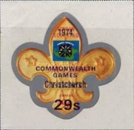 [Airmail - The 10th Commonwealth Sports Games, Christchurch, New Zealand - Various Stamps Surcharged, type PL]
