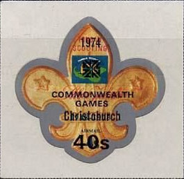 [Airmail - The 10th Commonwealth Sports Games, Christchurch, New Zealand - Various Stamps Surcharged, type PM]