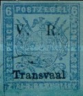 """[Not Issued Stamps - Overprinted """"V.R. - Transvaal"""", type B5]"""