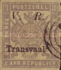 """[Not Issued Stamps - Overprinted """"V.R. - Transvaal"""". Italic """"V. R."""", type C2]"""