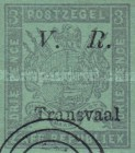 """[Not Issued Stamps - Overprinted """"V.R. - Transvaal"""". Italic """"V. R."""", type C4]"""