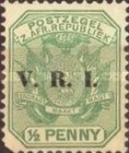 """[South Africa Republic Postage Stamps Overprinted """"V.R.I"""", type G]"""
