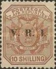 """[South Africa Republic Postage Stamps Overprinted """"V.R.I"""", type G10]"""