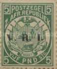 """[South Africa Republic Postage Stamps Overprinted """"V.R.I"""", type G11]"""