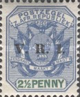 """[South Africa Republic Postage Stamps Overprinted """"V.R.I"""", type G3]"""
