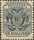 """[South Africa Republic Postage Stamps Overprinted """"V.R.I"""", type G9]"""