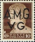 "[Italian Postage Stamps Overprinted ""A.M.G.V.G."" - Allied Military Governemnt Venezia Guilia, type A]"
