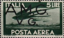 [Airmail - Italian Stamps Overprinted