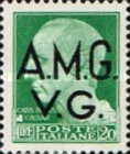 "[Italian Postage Stamps Overprinted ""A.M.G.V.G."" - Allied Military Governemnt Venezia Guilia, type A3]"