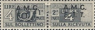 [Italy Parcel Post Stamps Overprinted