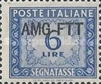 [Italy Postage Due Stamps Overprinted