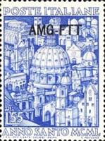 [Holy Year - Italy Postage Stamps Overprinted