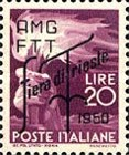 [Trieste Fair - Democracy Stamps of 1945 Overprinted