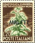 [The European Tobacco Conference - Italy Postage Stamps Overprinted