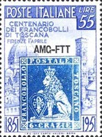 [The 100th Anniversary of Tuscany Stamps - Italy Postage Stamps Overprinted