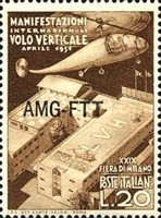 [The 29th Milan Trade Fair - Italy Postage Stamps Overprinted