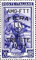 [Trieste Fair - Italy Postage Stamps Overprinted