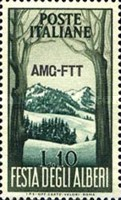 [The Festival of Trees - Italy Postage Stamps Overprinted
