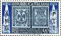 [The 100th Anniversary of the 1st Postage Stamps of Modena and Parma - Italy Postage Stamps Overprinted