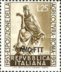 [International Exposition of Agriculture, Rome - Italy Postage Stamps Overprinted