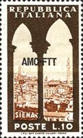 [Landscapes - Italy Postage Stamps Overprinted