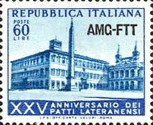 [The 25th Anniversary of the Lateran Pacts - Italy Postage Stamps Overprinted