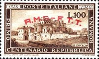 [The 100th Anniversary of the Roman Republic - Italy Postage Stamp Overprinted