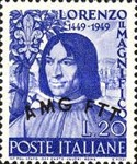 [The 500th Anniversary of the Birth of Lorenzo Medici - Italy Postage Stamp Overprinted