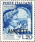 [The 2000th Anniversary of the Death of Catullus - Italy Postage Stamp Overprinted